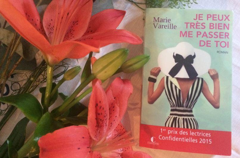 Je peux très bien me passer de toi - éditions Charleston - prix littéraire - paris frivole