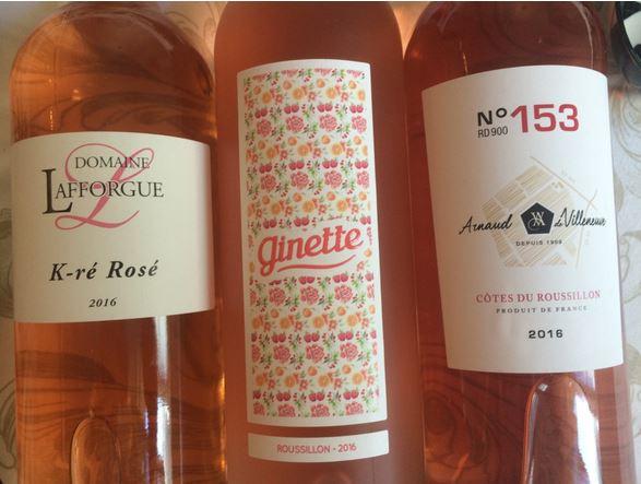 Vin rosé Côtes du Roussillon