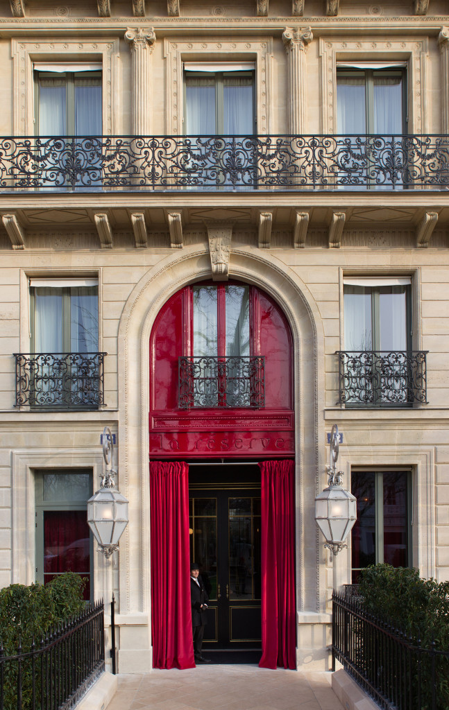 Reserve Hotel et spa - palace parisien