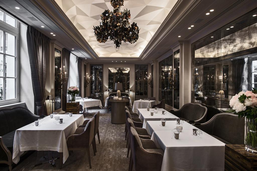 restaurant L'écrin - hôtel de crillon - paris