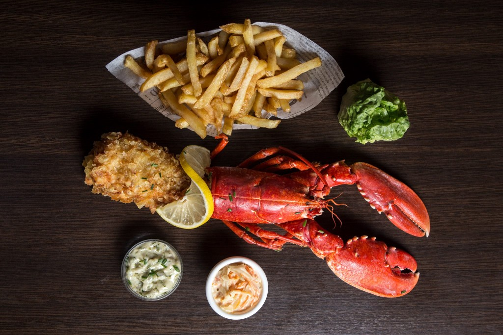 Homard & Chips - la cantine du homard à Paris