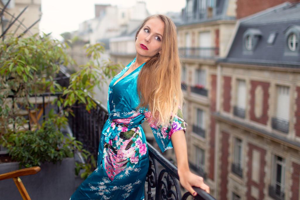 Le PEIGNOIR - françois escriva - blog parisien