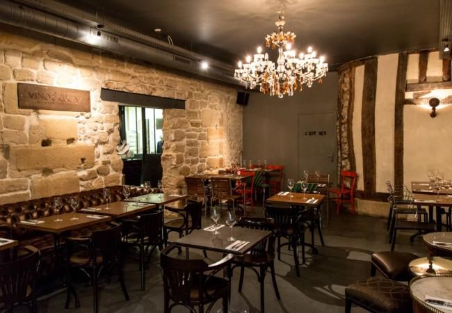 Vino e Cucina – l'italien de la rue Saint Sauveur – bar à vins et cave à manger