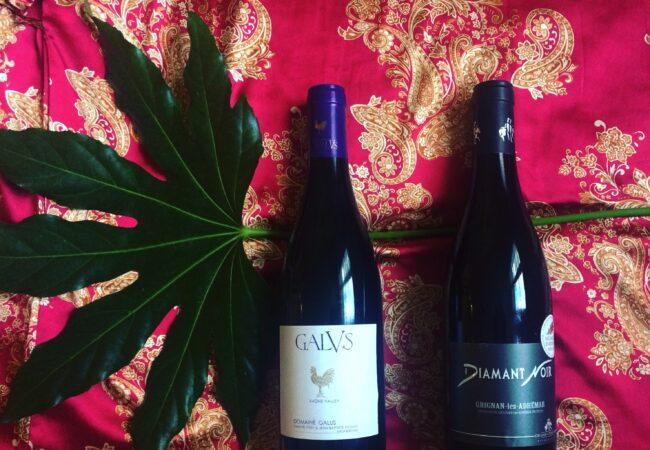 Sélection de vins rouges – Galus et Diamant Noir