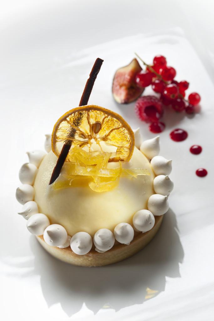 tarte citrons du CARLTON - pâtisserie - palace