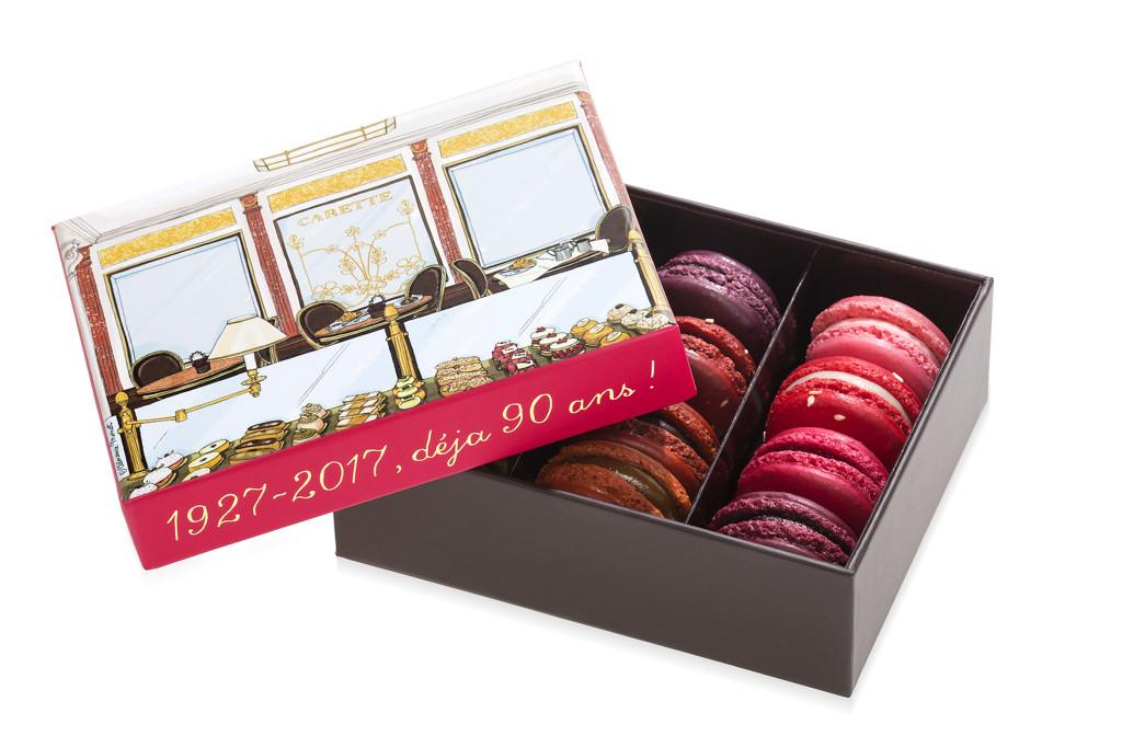Carette 90 ans - boîte de macarons collector