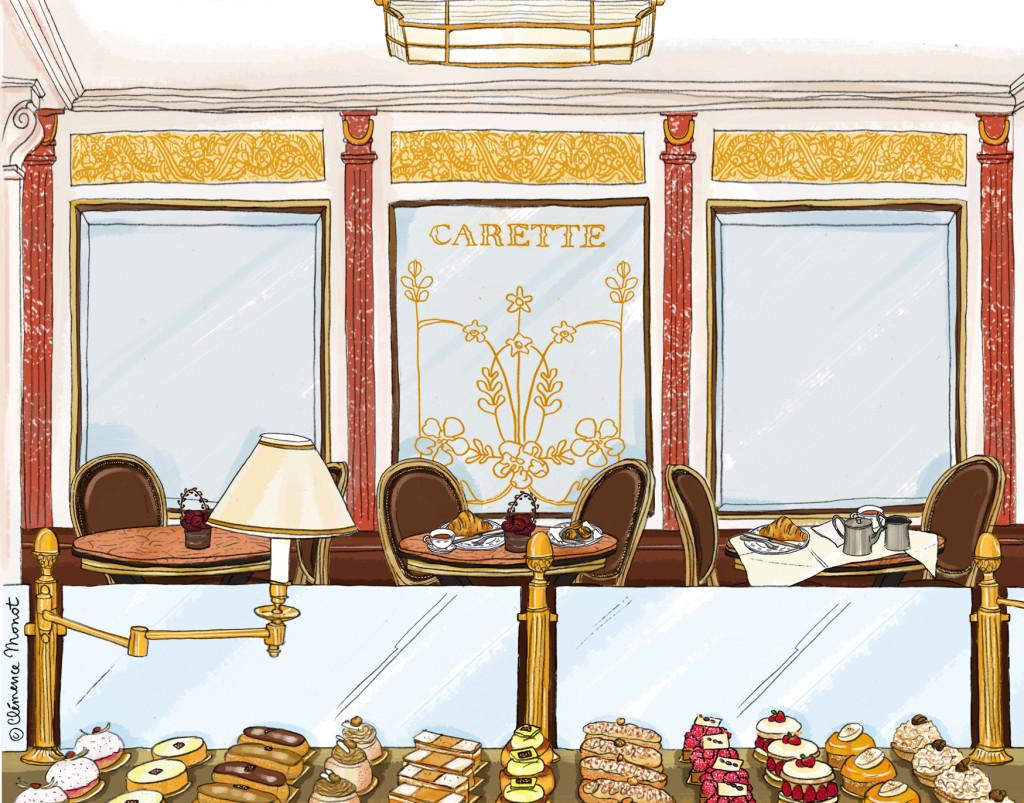 Carette 90 ans - salon de thé parisien