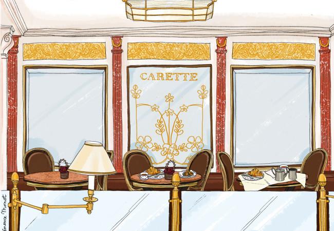 Les salons de thé Carette fêtent leur 90 ans ! Coffret de macarons collector