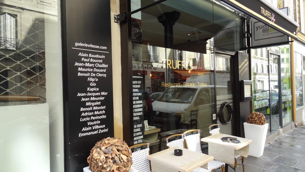 Truffes Folie - restaurant de truffes à paris