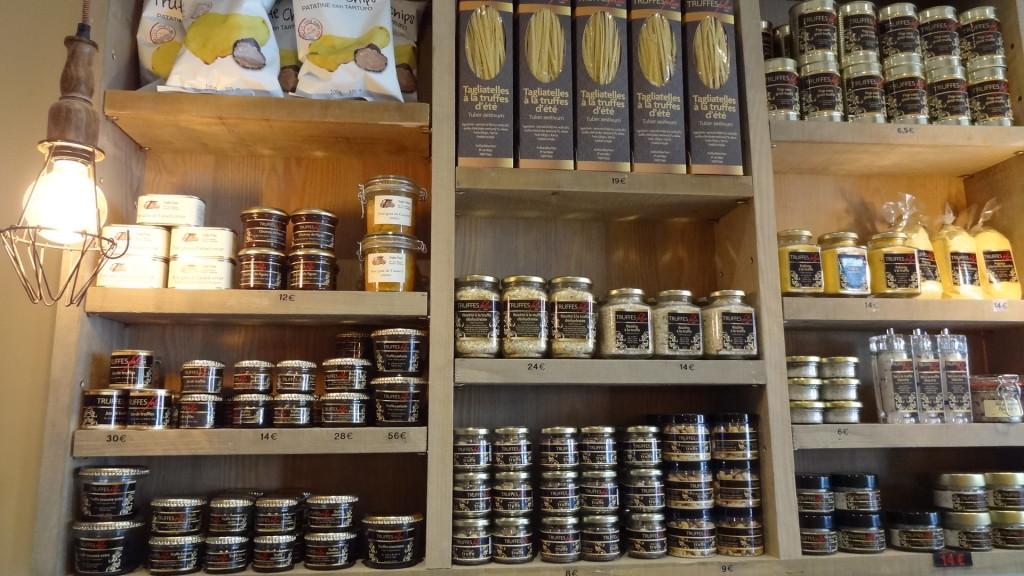 épicerie fine - truffe - paris