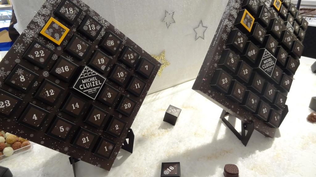calendrier de l'avent - Michel Cluizel - chocolats
