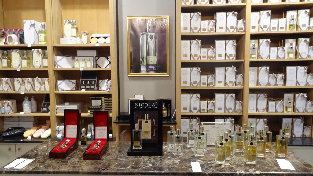 Nicolaï parfumeur - boutique parisienne