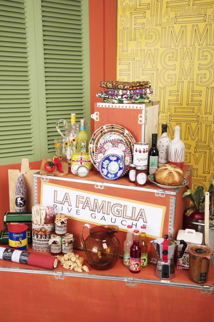 Exposition La Famiglia au Bon Marché Rive Gauche - Paris Frivole