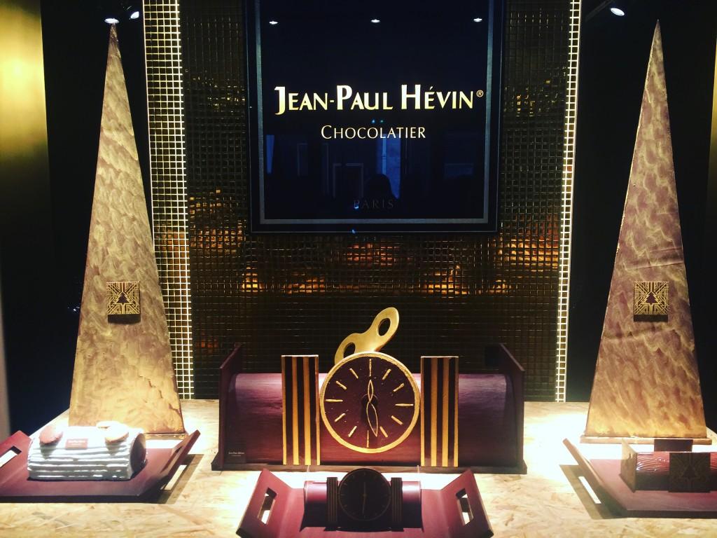Jean-Paul Hévin - chocolatier français - collection de Noël - bûches