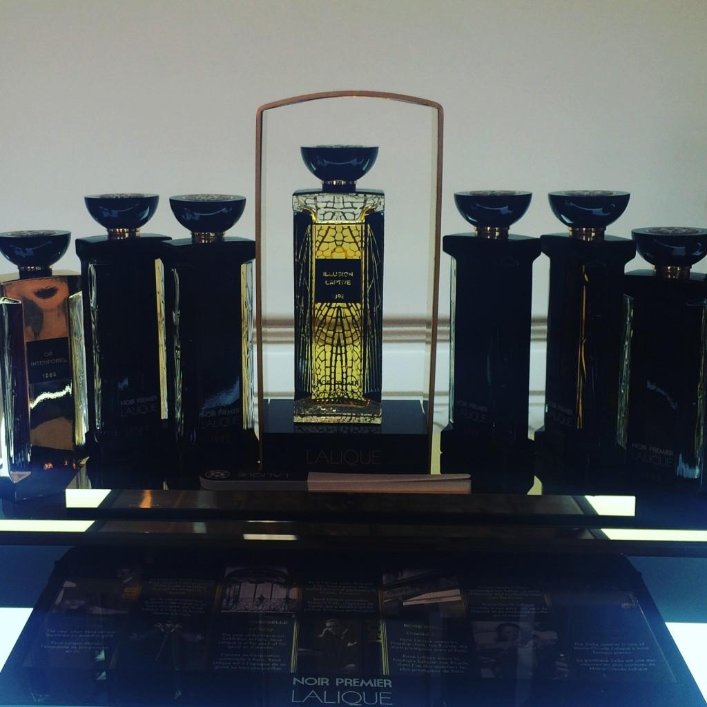 Lalique parfum - collection noir premier - illusion captive