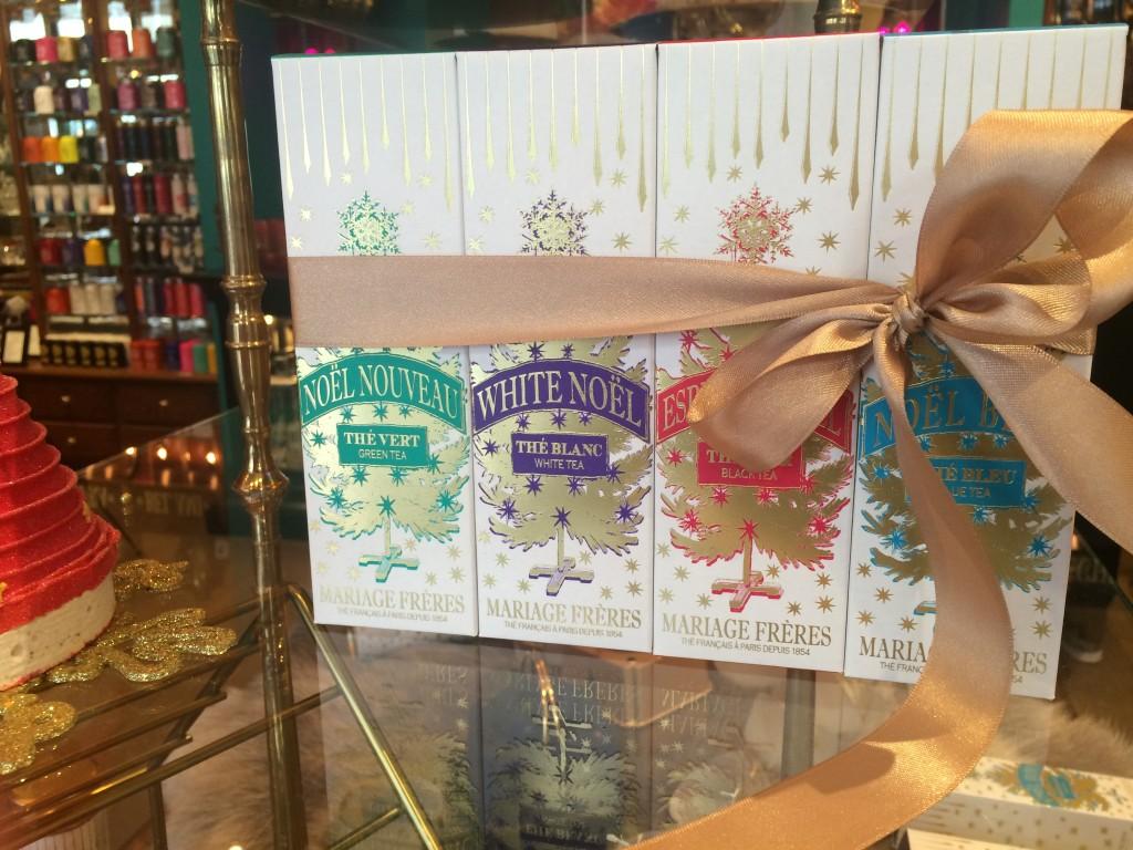 Mariage Frères - thés et bûches de Noël - thés de Noël