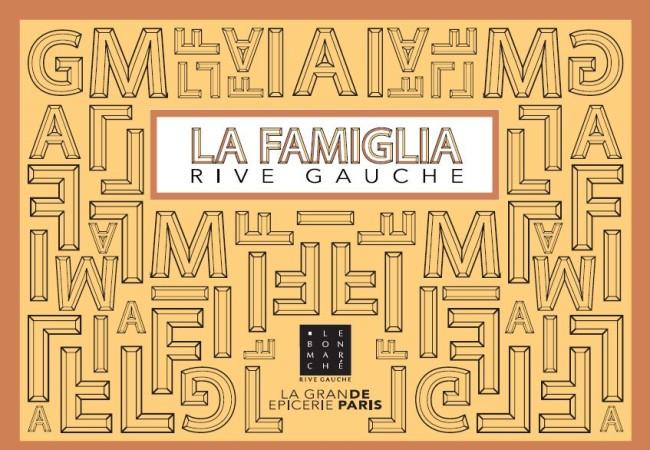 La Famiglia Rive Gauche – l'exposition événement du Bon Marché