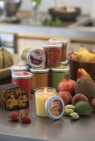 Lothantique - bougies - pot de confiture - paris frivole