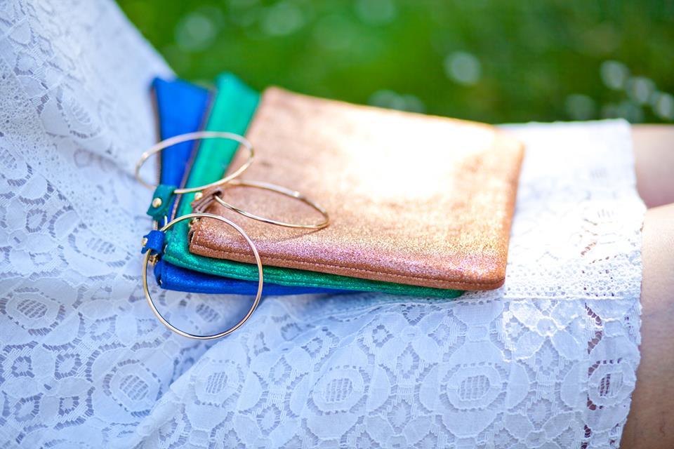 Lucienne Paris - Cigoire - pochettes en cuir