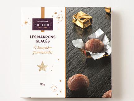 Monoprix gourmet - marrons glacés