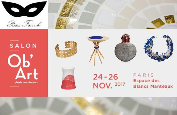 Paris Frivole partenaire officiel du Salon Ob'Art