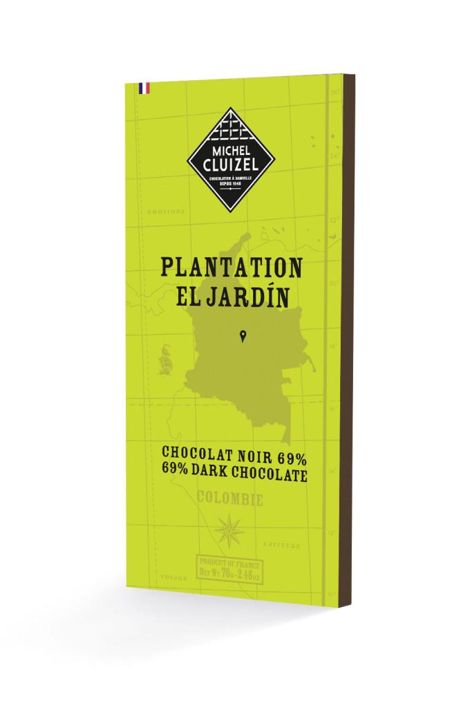 Tablette Chocolat de Plantation El Jardin