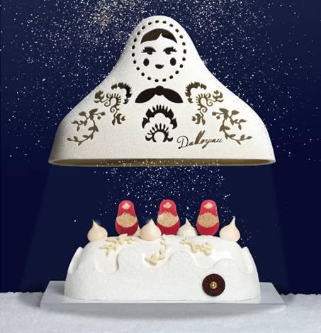 Maison Dalloyau - créations de Noël