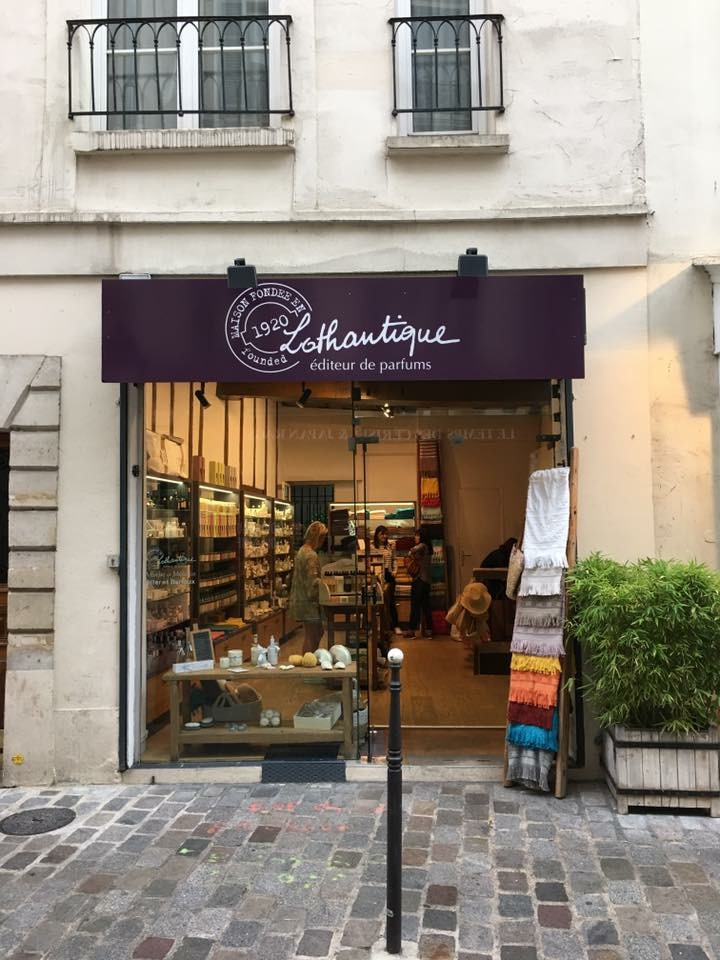 boutique lothantique - le marais - paris