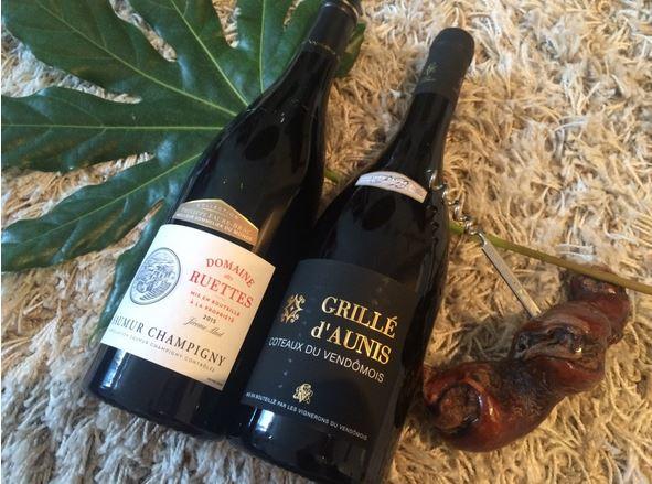 vins de loire - collection philippe faure brac - blog de vins et gastronomie