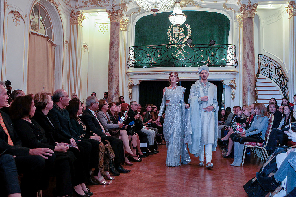 Nilofer Shahid - Paris Fashion Week - Ambassade du Pakistan