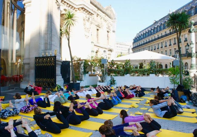 Yoga et collation healthy à l'Opéra de Paris
