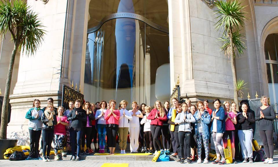 Yoga à l'Opéra - Lole - Lov Organic - Biotherm