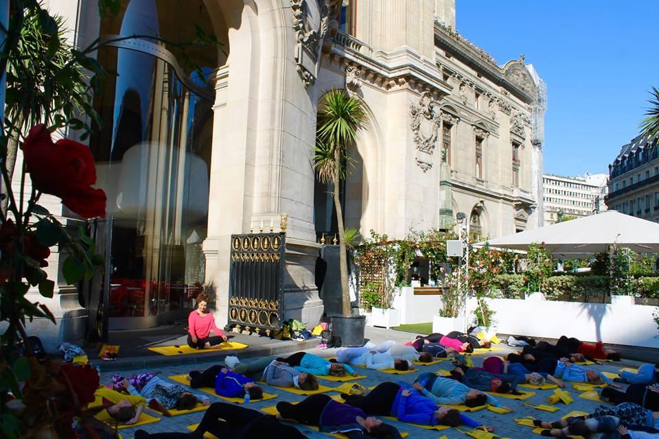 Yoga et collation healthy à l'Opéra de Paris - Paris Frivole