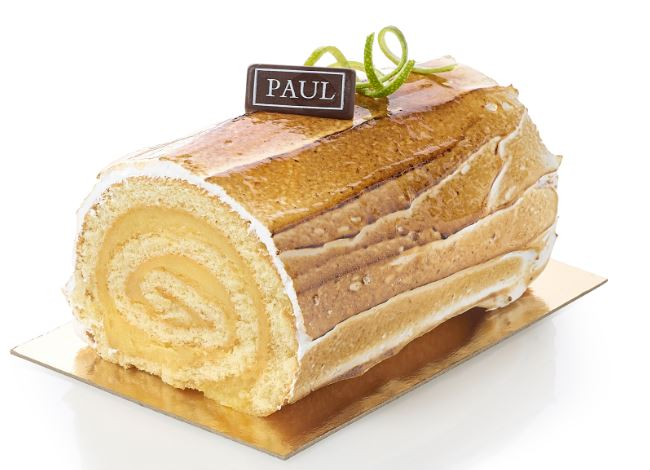 Bûche paul citron