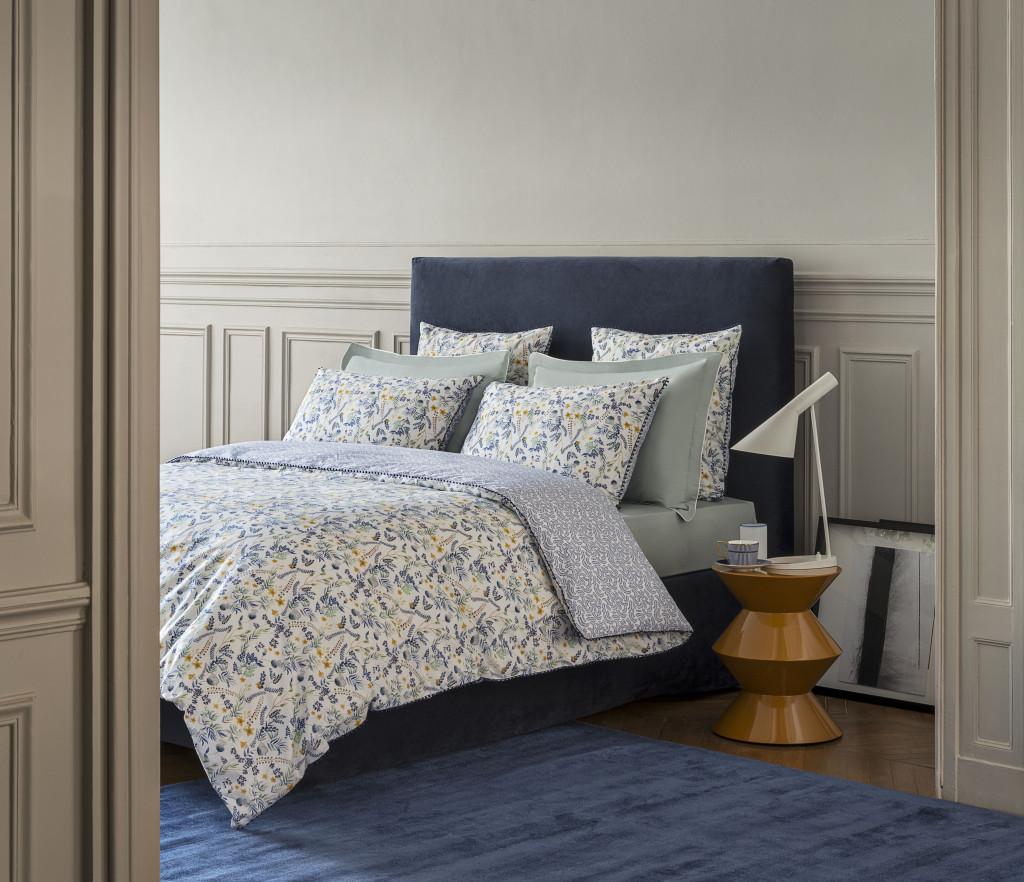 Descamps - parures de lit chics - décoration - savoir faire français