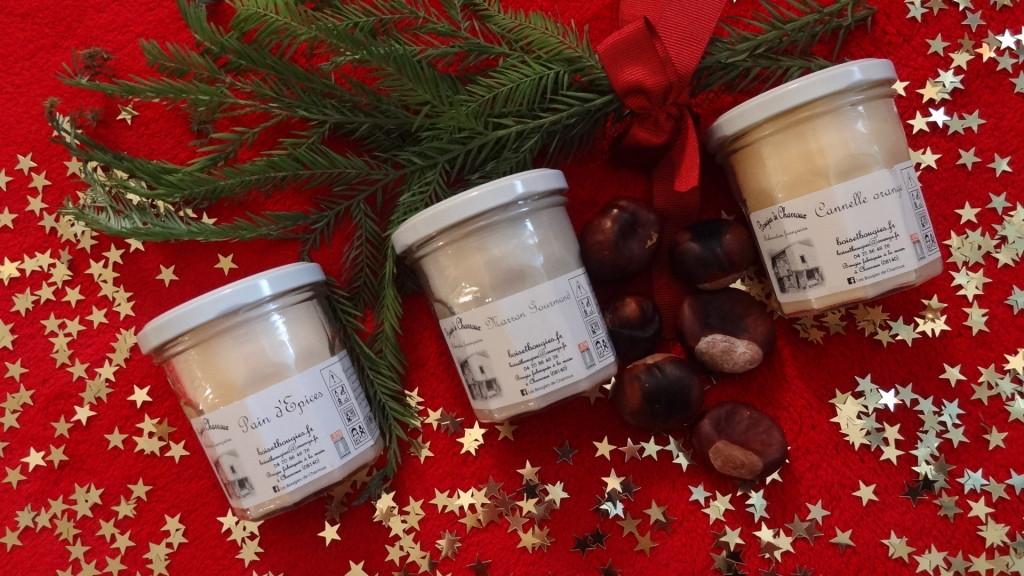 Les Bougies de Charroux - senteurs de Noël