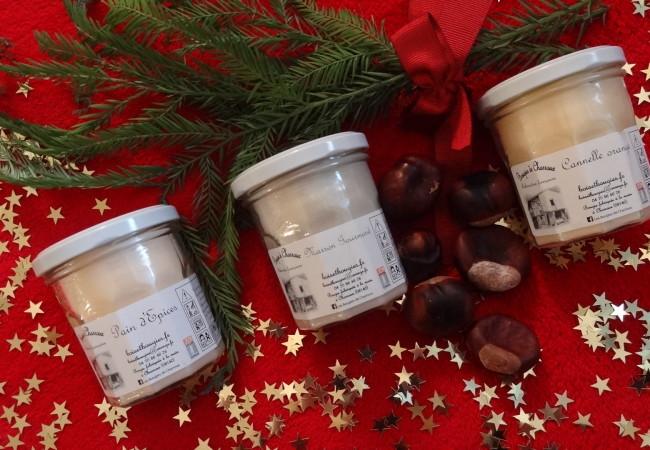Les Bougies de Charroux – senteurs de Noël