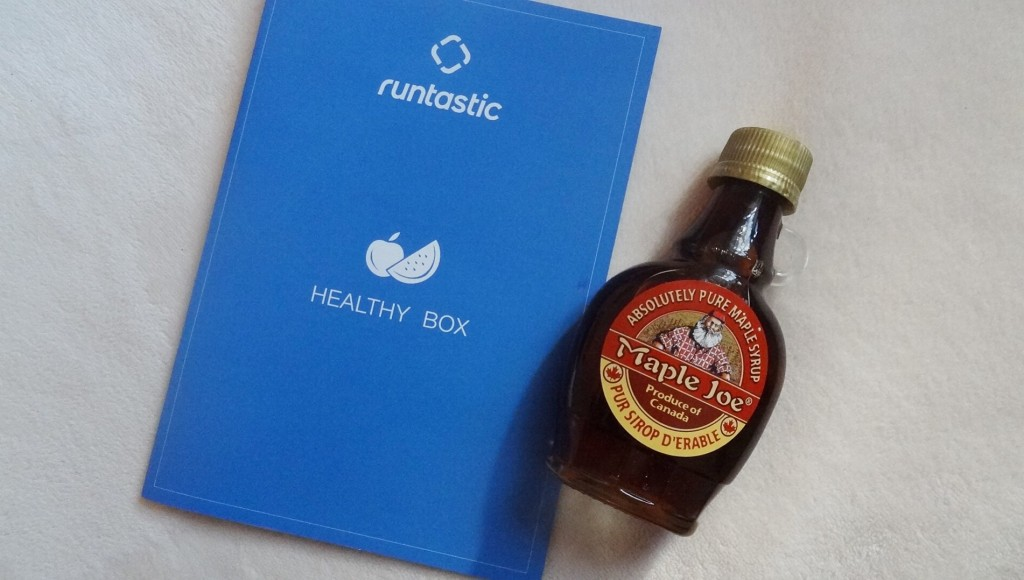 "Healthy Box Runtastic - nouvelle application nutrition ""Balance"""