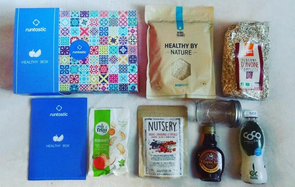 "Healthy Box Runtastic - nouvelle application nutrition ""Balance"""