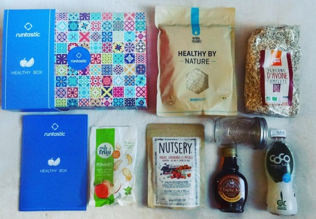 Healthy Box Runtastic – nouvelle application nutrition « Balance »