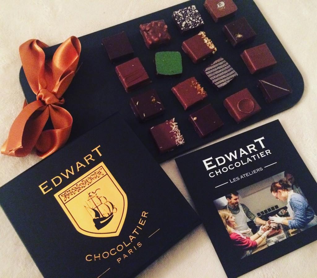 Edwart Chocolatier - des coffrets de chocolats pour les Fêtes