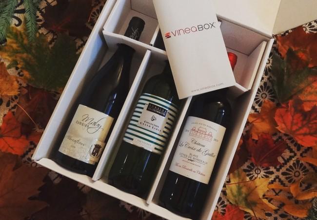 Vineabox – coffret de 3 bouteilles par mois – calendrier de l'avent du vin