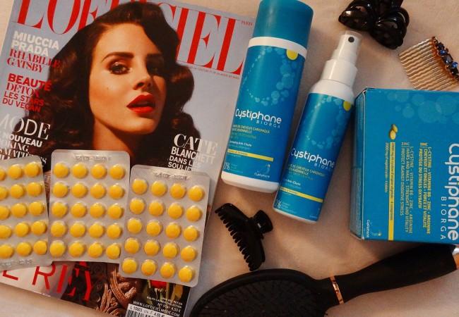 Cystiphane Biorga – gamme anti chute – cheveux sublimes