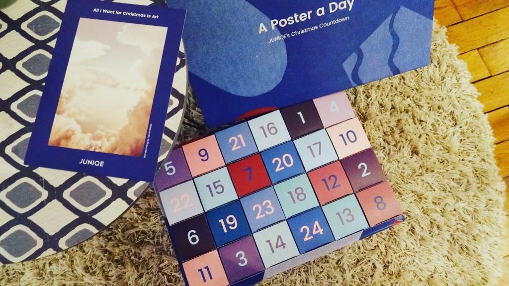 Juniqe - calendrier de l'avent - a poster a day