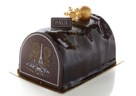 Paul - bûche chocolat