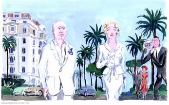 Exposition de Jean-Philippe Delhomme - Christian Dior et le Sud
