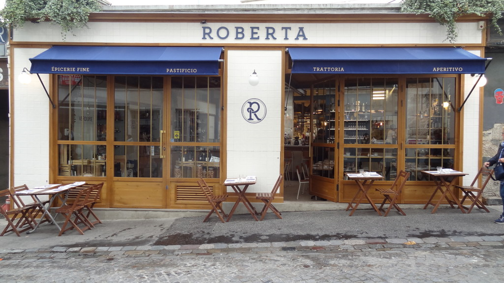 Roberta - restaurant Italien - Montmartre - Paris Frivole