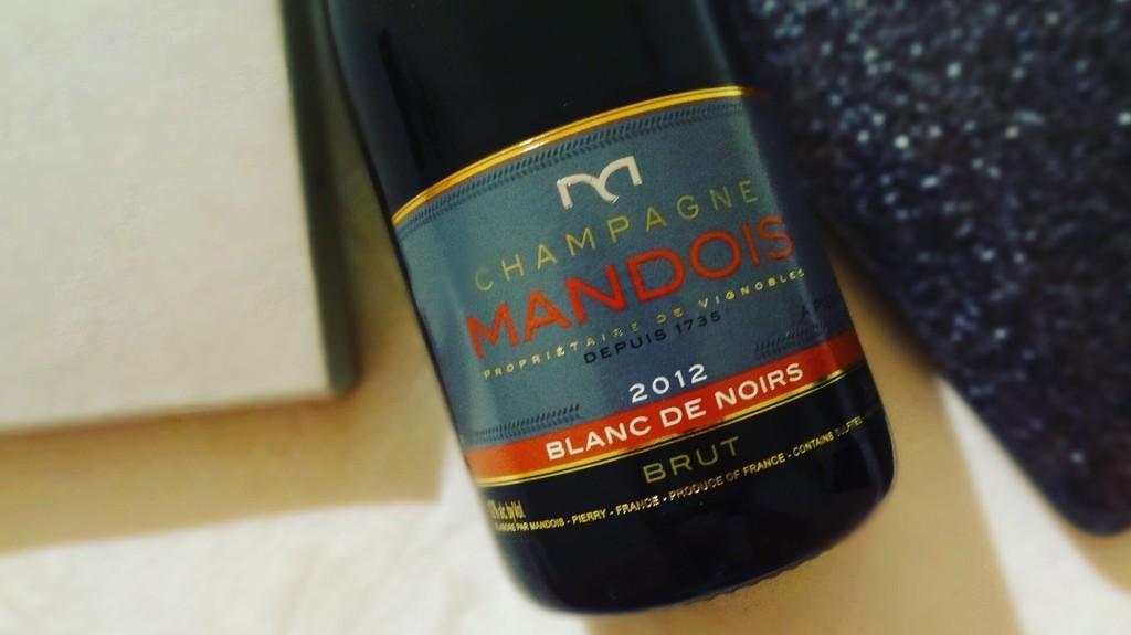 Champagne Mandois - Blanc de Noirs 2012 - cuvée d'exception