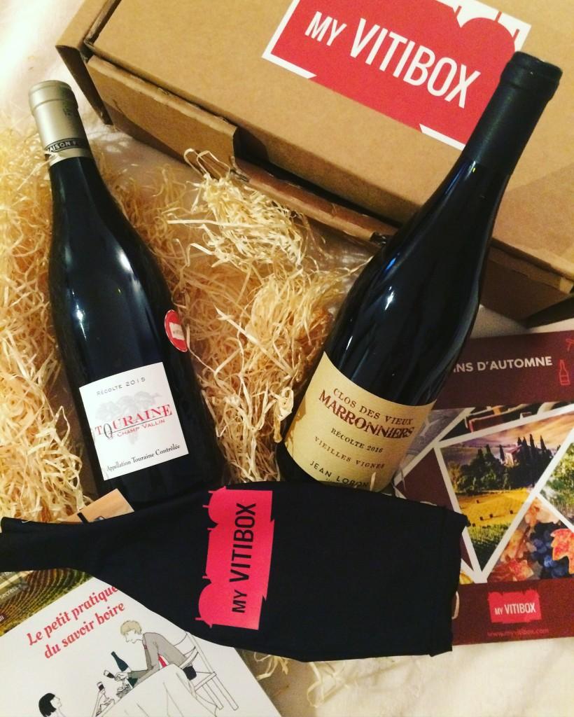 My Vitibox - le sommelier de l'Elysée - box vin