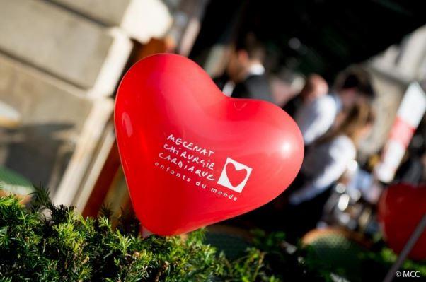 Les rendez-vous du coeur - Inès de la Fressange - Café de la Paix